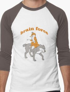brain power Men's Baseball ¾ T-Shirt