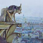 Hunchbacked Gargoyle by JennyArmitage