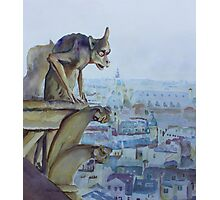 Hunchbacked Gargoyle Photographic Print