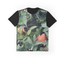 Can you see this? He's eating them all Graphic T-Shirt