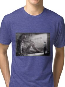 Cyberpunk Photography 009 Tri-blend T-Shirt