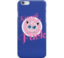 kawaii as fuck iPhone Case/Skin