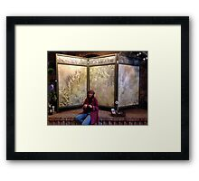 Art Screen in perfect location . . . . Framed Print