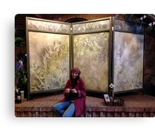 Art Screen in perfect location . . . . Canvas Print