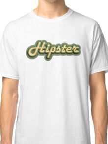 Vintage Hipster Classic T-Shirt