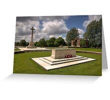 Hooge Cemetery  Greeting Card