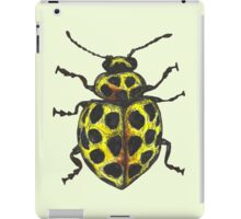 Yellow 22 spot ladybird iPad Case/Skin