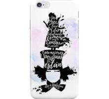 Alice in wonderland - La locura del sombrerero iPhone Case/Skin