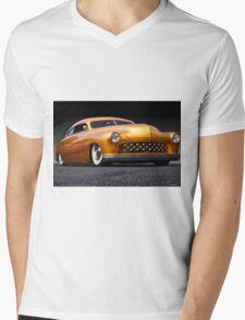 1950 Mercury Custom Coupe  Mens V-Neck T-Shirt