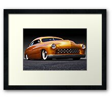 1950 Mercury Custom Coupe  Framed Print