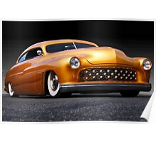 1950 Mercury Custom Coupe  Poster