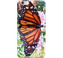 Butterfly on Pink Flowers [ iphone / case / skin ] iPhone Case/Skin