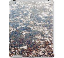 Water, glare of the sun iPad Case/Skin