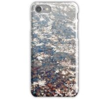 Water, glare of the sun iPhone Case/Skin