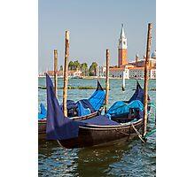 Gondola in Venice. Photographic Print