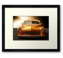 1950 Mercury Custom Coupe 'Grill Detail' Framed Print