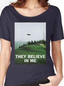 THEY BELIEVE IN ME Women's Relaxed Fit T-Shirt