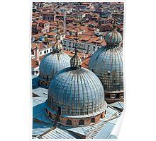 San Marco Basilica, Venice. Poster