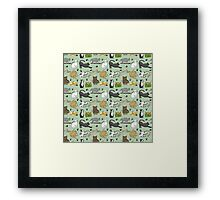 Day in the life of a Cat  Framed Print