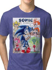 SONIC ADVENTURE!! Tri-blend T-Shirt
