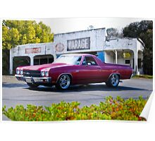 1970 Chevrolet El Camino SS Poster