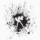 Vi Splatter - Black - League of Legends by ChewyDinosaur