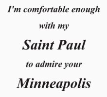 Comfortable with Saint Paul by Laura Toth