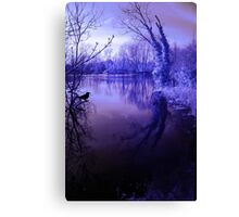 Spooky waters Canvas Print