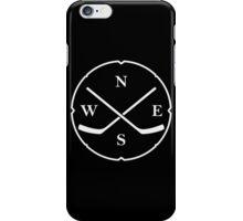 HOCKEY COMPASS iPhone Case/Skin