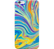 rainbow swirl iPhone Case/Skin