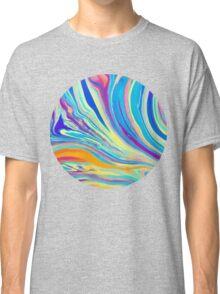 rainbow swirl Classic T-Shirt