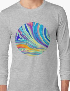 rainbow swirl Long Sleeve T-Shirt