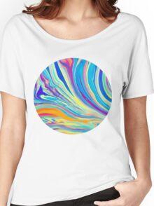 rainbow swirl Women's Relaxed Fit T-Shirt