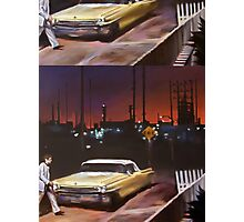 Yellow Cadillac Photographic Print