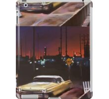 Yellow Cadillac iPad Case/Skin