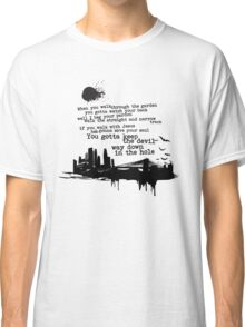 """Way Down In The Hole"" - The Wire - Dark Classic T-Shirt"