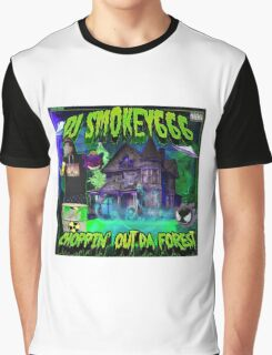 Dj Smokey - Choppin Out Da Forest Album Art Graphic T-Shirt