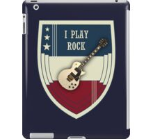 I play rock iPad Case/Skin
