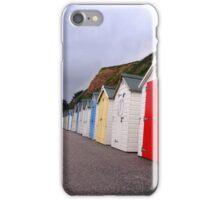 Beach Huts - Seaton iPhone Case/Skin