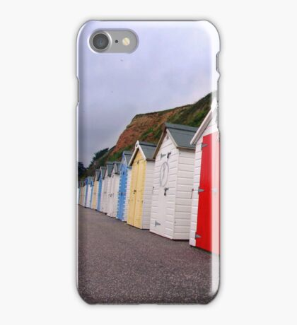 Beach Huts - Seaton iPhone Case/Skin