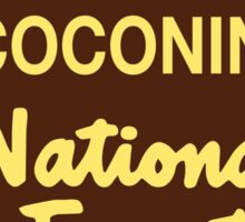 Coconino National Forest Sticker