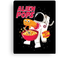 Alien Pops Canvas Print