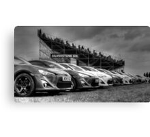 Toyota Line Up Canvas Print