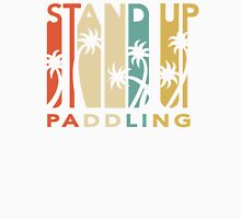 Retro Stand Up Paddling Unisex T-Shirt
