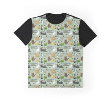 Day in the life of a Cat  Graphic T-Shirt