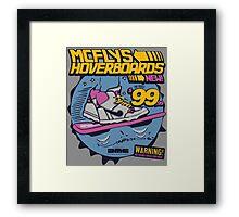 MCFLYS HOVERBOARDS Framed Print