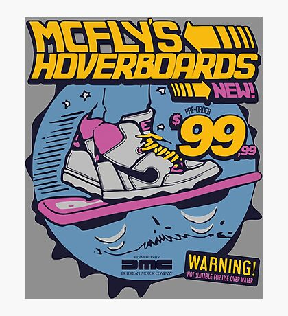 MCFLYS HOVERBOARDS Photographic Print