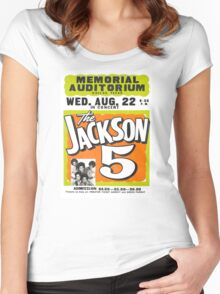 Jackson 5 Women's Fitted Scoop T-Shirt