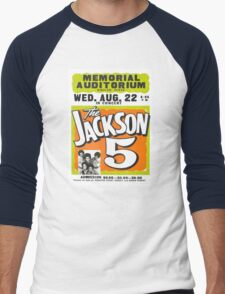 Jackson 5 Men's Baseball ¾ T-Shirt