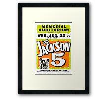 Jackson 5 Framed Print